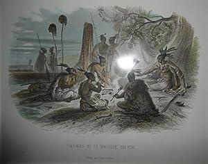 Sauvages De La Nouvelle Zelande Engraving