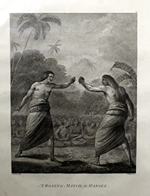 A Boxing Match in Hapaee Engraving: WEBBER, John