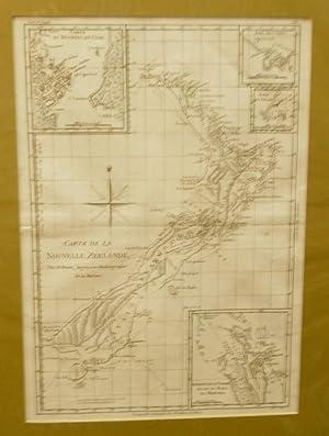 Carte De La Nouvelle Zeelande Map: BONNE, Rigobert