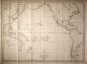 Carte Du Grand Ocean Ou Mer Du Sud. Atlas Du Voyage De La Perouse No. 3 Map: TARDIEU, P F