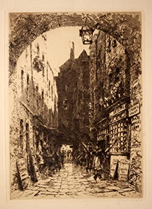 Pall Mall 1884 Etching: GEORGE, Ernest Sir