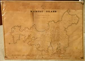 Plan of Waiheke Island. Scale 40 Chains to an Inch