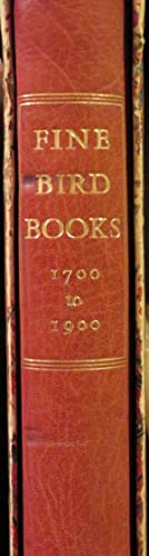 Fine Bird Books 1700-1900