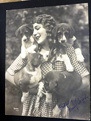 Mary Pickford Album. A Privately Collected Series of . Large Photographs of Mary Pickford,