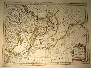 A New Map of the North East Coast of Asia and the North West Coast of America, with the late Russ...