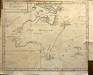 Reduced Chart of Australasia for the III Volume of the History of the Southern Continent by Vaugo...
