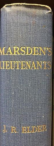Marsden's Lieutenants: ELDER, John Rawson