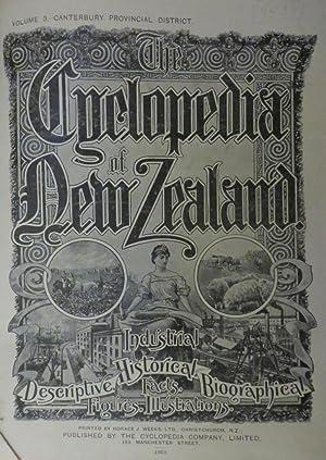 CYCLOPEDIA OF NEW ZEALAND Vol. 3 Canterbury Provincial District.