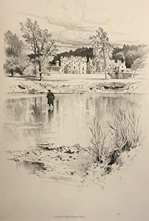 The River Tweed from Its Source to the Sea ; Sixteen Drawings By George Reid.: VEITCH, Professor