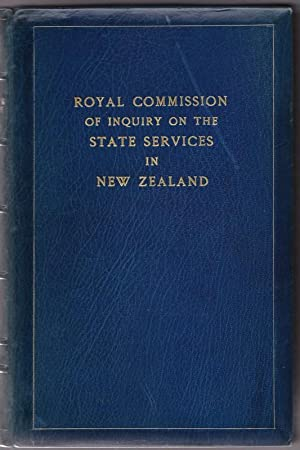 ROYAL COMMISSION OF INQUIRY ON THE STATE SERVICES IN NEW ZEALAND