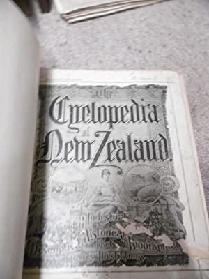CYCLOPEDIA OF NEW ZEALAND. Wellington City Edition.