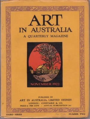 ART in Australia, Third Series, No. 2, Nov 1922: SMITH, Sydney Ure and Leon GELLERT (editors)