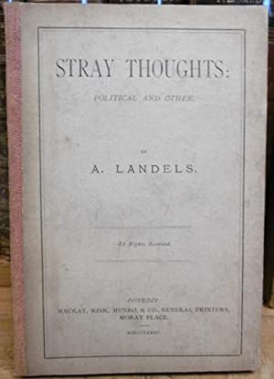 Stray Thoughts: Political and Other: LANDELS, A.