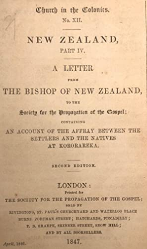 A Letter from the Bishop to the Society for the Propogation of the Gospel; Containing an Account of...