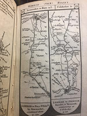 Paterson's British Itinerary Being a New and Accurate Delineation and Description of the Direct a...
