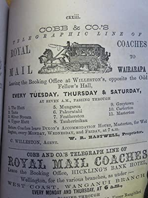 The Wellington Almanack Directory, Calendar and Diary for the Year 1869