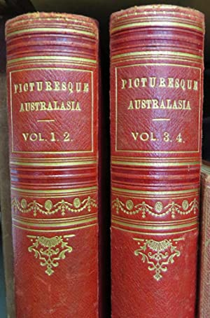 Cassell's Picturesque Australasia. 4 volumes in 2