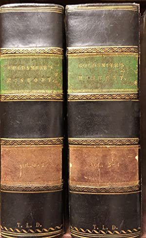 A History of the Earth and Animated Nature. 4 volumes in 2.: GOLDSMITH, Oliver