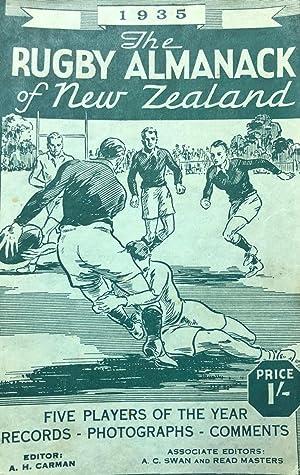 The Rugby Almanack of New Zealand, 1935 Edition: CARMAN, Arthur H. & MASTERS, Read, & SWAN, Arthur ...