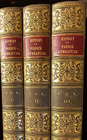 History of French Literature. 3 Volumes: VAN LAUN, Henri
