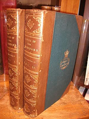 The Lives of the Sheridans. 2 Volumes: FITZGERALD, Percy