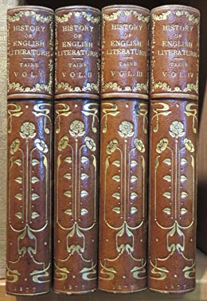 History of English Literature. Translated from the French By H. Van Laun. 4 Volumes
