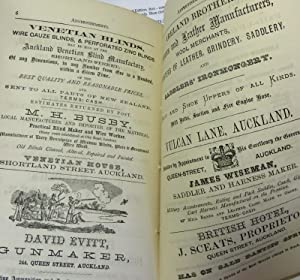 Reed and Brett's Auckland Almanac, Provincial Handbook, and Strangers ' Vade Mecum. 1874....