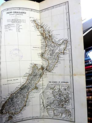 New Zealand. Its Physical Geography, Geology and Natural History. With special reference to the ...
