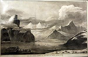 Vue De l'Anse Fermee De l'Entree Du Prince Guillaume Engraving