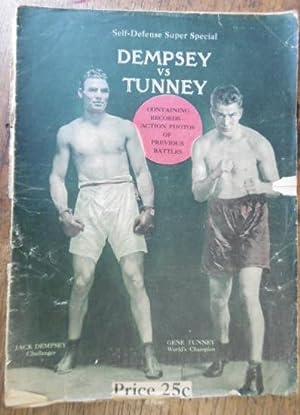 Self-Defense Super Special. Dempsey vs Tunney: SELF-DEFENSE MAGAZINE