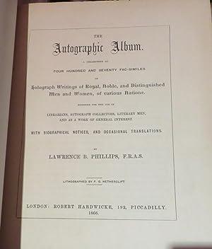 The Autographic Album: PHILLIPS, L.B.