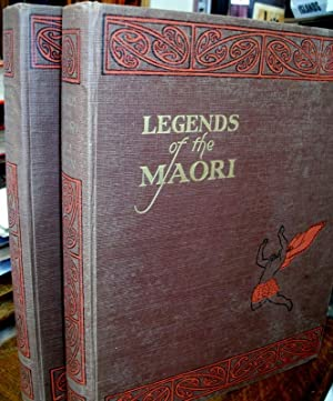 Legends of the Maori ; Illustrated By Stuart Peterson.: COWAN, James and Maui POMARE.