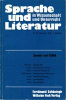 Sprache und Literatur in Wissenschaft und Unterricht: Heringer Hans Jürgen,