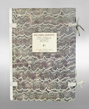 Vecchia Genova. Trenta litografi di Riccardo Lombardo con testo di Mario Labo.: Lombardo, Roccardo.