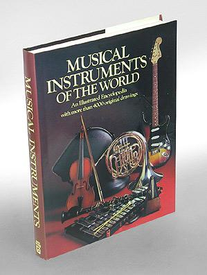 Musical Instruments of the World. An Illustrated Encyclopedia by the Diagram Group.