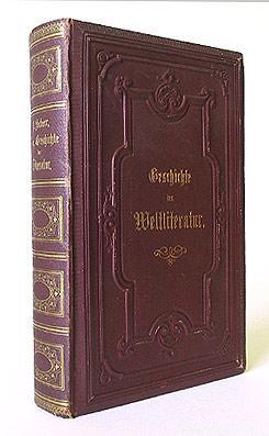 Allgemeine Geschichte der Literatur. Ein Handbuch in 2 Bänden. (2 Bde. in 1).: Scherr, ...