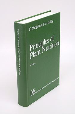 Principles of Plant Nutrition.: Mengel, Konrad and Ernest A. Kirkby.