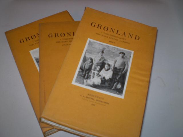 Grønland i Tohundredaaret for Hans Egedes Landing bind 1-2 samt atlasbind: Amdrup, G.C., ...
