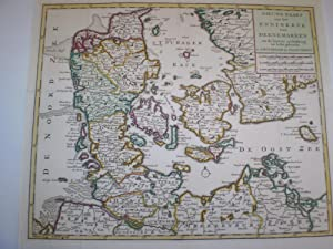 Nieuwe Kaart van het Koninkryk van Deenemarken na de laatste ondekking int licht gebracht: Isaak ...