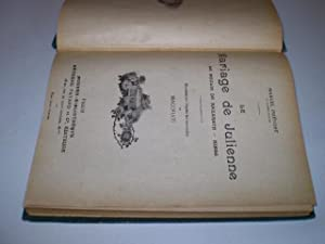 Le Mariage de Julienne bound with Paul Hervieu, Les Yeux verts et Les Yeux bleus: Prévost, Marcel