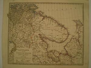 Petrografisk karta öfver Nerike.: HERMELIN, S. G.