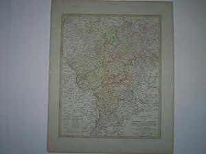 Charte von den Lændern zwischen dem Rheine der Werre dem Necker und der Dimel.: G�SSEFELD, ...