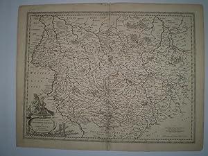 Archiepiscopatus Maghdebvrgensis et Anhaltinus Dvcatvs: cum adjacentibus.: BLAEU, WILLEM.