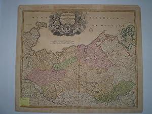 Ducatus Meklenburgici. Tabula Generalis continens Duc. Vandaliæ: HOMANN, JOHANN BAPTIST.
