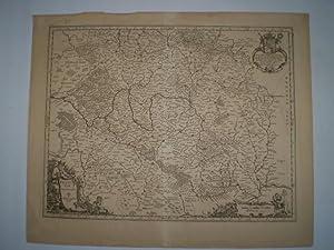 Franconiæ Nova Descriptio.: JANSSONIUS, JOHANNES.