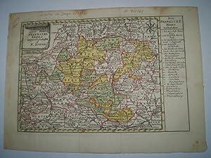 Landkort over den Frankiske Kreds.: JONGE, NICOLAI.