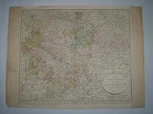 Sachsen-Ernestinische XIIte Landestheilung vom Jahr 1699 und 1741.: MOSNER, JEAN MICHEL.