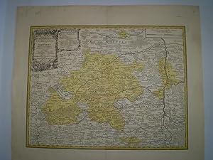 Principatus Brandenbvrgico Culmbacensis vel Barvthini Tabula Geographica.: HOMANNISCHE ERBEN.
