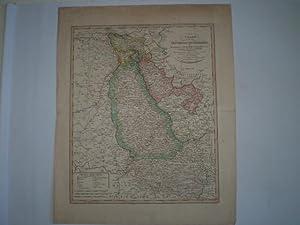 Charte von dem Grossherzogthum Niederrhein den Herzogthümern Cleve, Berg, Geldernund den ...