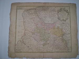 Carte d Artois et des environs vel Mappa Specialis Comitatus Artesiæ in qua simul Terræ...